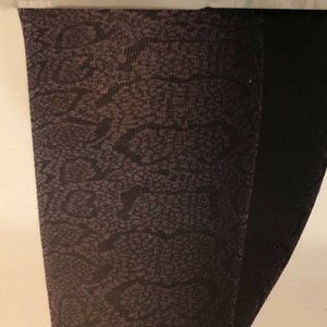 a new day Accessories - A New Day Fashion Tights Size M/L Snake Print NEW
